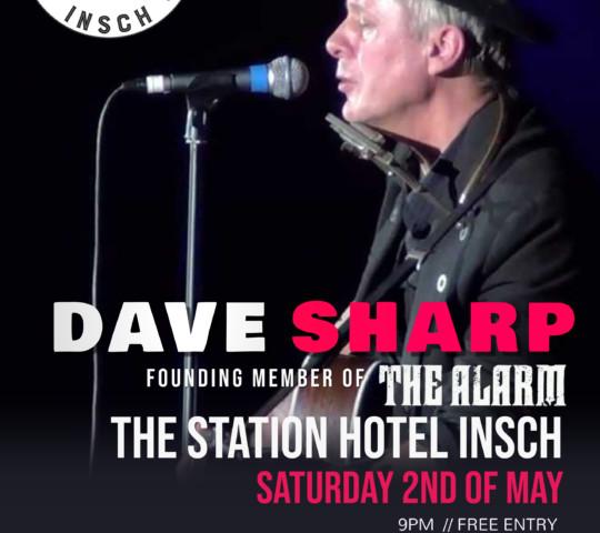 Dave Sharp Tour